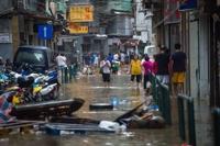 초강력 태풍 '하토'에 홍콩·마카오 마비… 85명 사상