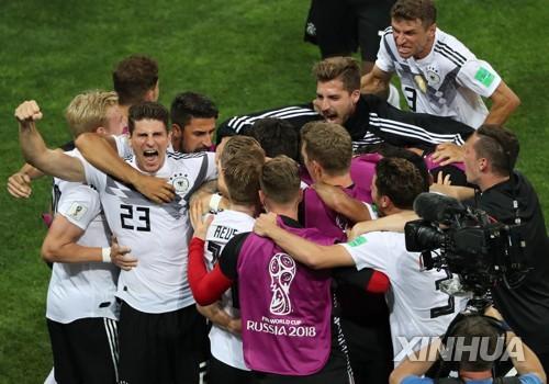 [월드컵] 극적 승리 후 상대 벤치에 도발…독일, 스웨덴에 사과