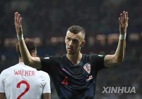 [월드컵] 크로아티아 결승행 주역 페리시치 '1골 1도움' 활약