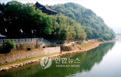 밀양강 전경[연합뉴스 자료사진]
