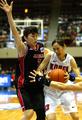 아테네 올림픽 예선 한국-일본 : 가로막힌 이종애