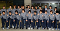 올림픽 축구 대표팀 입국