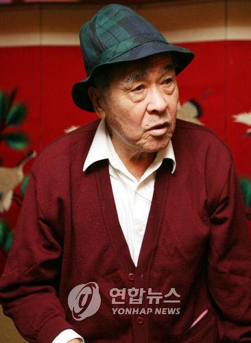 김정남의 외삼촌 성일기(85)씨
