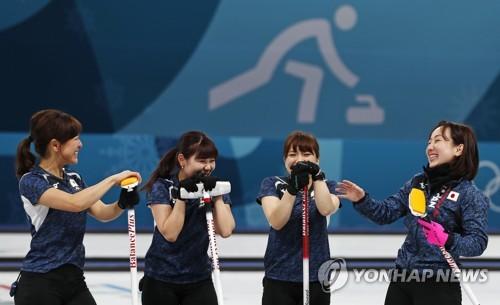 일본 여자컬링 대표팀