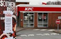 KFC에 치킨이 떨어졌다…영국 영업점 절반 문 닫아