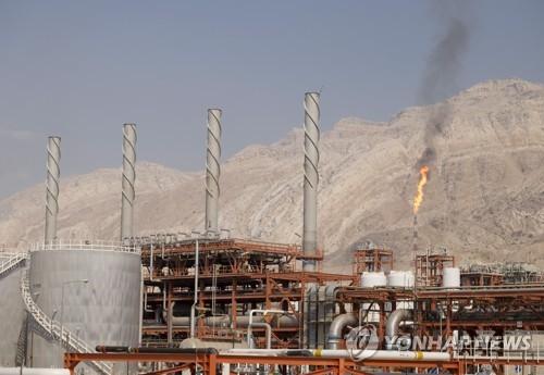이란의 사우스 파르스 가스전