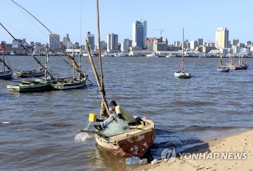 모잠비크 해안[로이터=연합뉴스 자료사진]