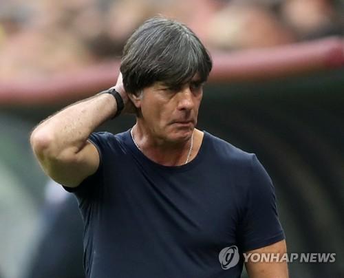 [월드컵] 첫판 패한 독일 뢰프 감독