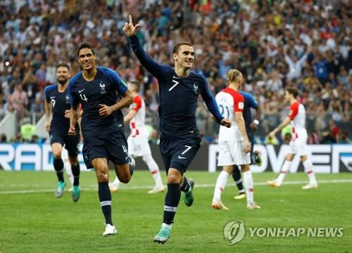 [월드컵] 프랑스 그리에즈만, 20년 만에 재현한 '지단의 향기'