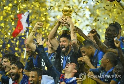 -월드컵- 프랑스, 크로아티아 꺾고 20년 만에 정상 탈환(종합2보)