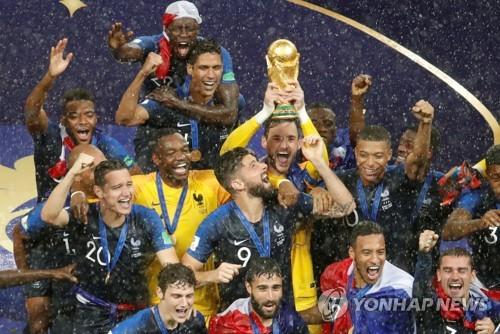 [월드컵] 20년 만의 우승 프랑스, 우승상금 431억원 '돈방석'