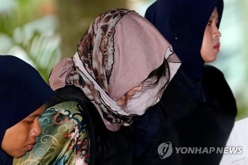 '김정남 암살' 여성에 변론 지시…무죄 방면 불발
