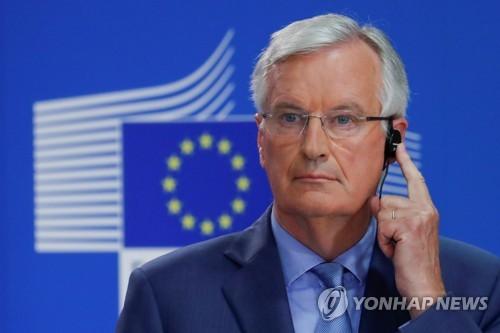 브렉시트 협상 EU측 수석대표인 미셸 바르니에 [로이터=연합뉴스 자료사진]