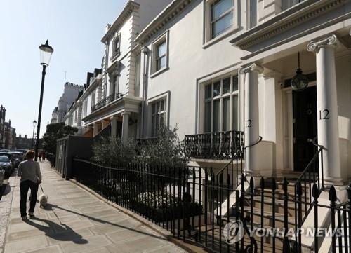 자미라 하지예바의 소유로 알려진 런던 부동산