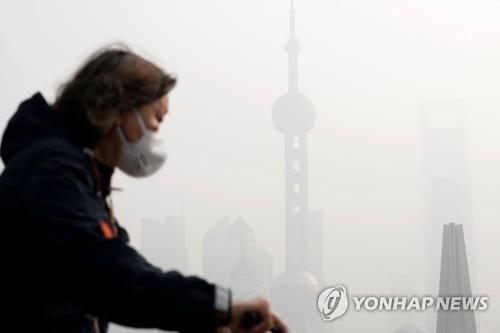 """그린피스 """"베이징 초미세먼지 농도 작년보다 10% 높아져"""""""