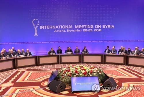"""터키 외무 """"유엔 시리아회담 성과 제로…러 주도 협상서 진전"""""""