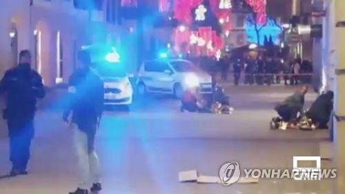 """佛크리스마스시장 총격 4명 사망·11명 부상…""""테러 의심""""(종합2보)"""