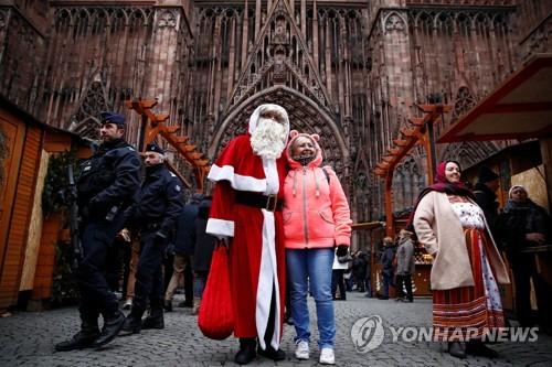 '총격테러' 佛 스트라스부르 크리스마스시장 재개장