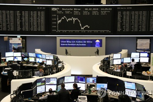 [유럽증시] 미·중 무역협상 불확실성 확대로 약세