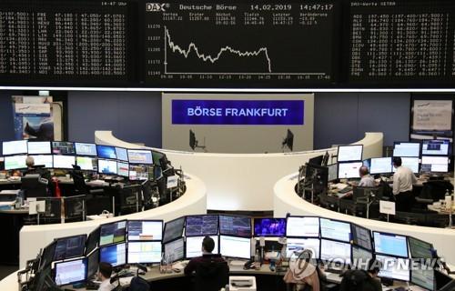 [유럽증시] 미중 무역협상 기대감 유지하며 숨고르기