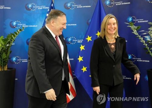 美·EU, 2차 북미정상회담 앞두고 한반도 비핵화 문제 등 논의