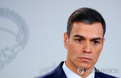 '소수내각 한계' 스페인 산체스총리 '최단명'…조기총선 선언(종합)