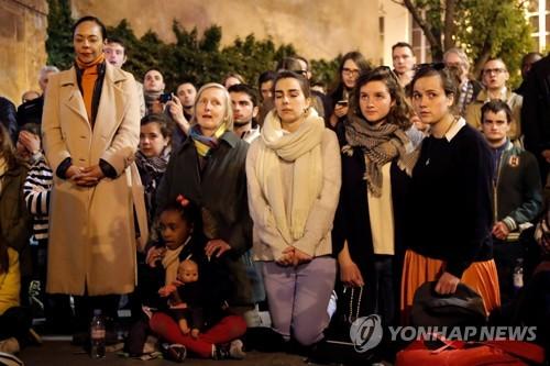 [르포] 숭례문 데자뷔…화염 휩싸인 노트르담 대성당