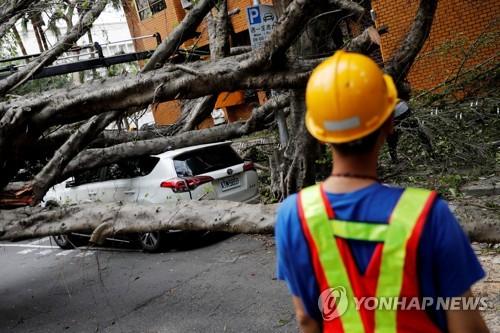 """외교부 """"대만 지진으로 현재까지 한국민 인명피해 없어"""""""