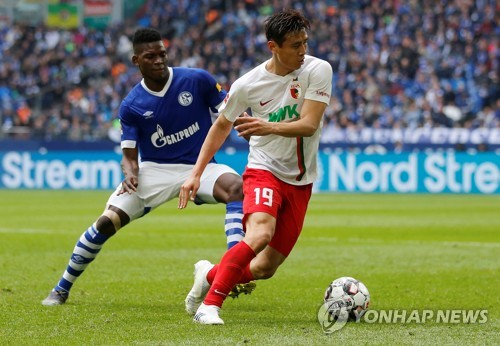 S. Korean Koo Ja-cheol rejects 3-year offer from FC Augsburg: agent
