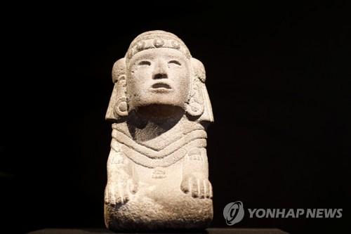 멕시코 '문화재 반환' 요구에도…프랑스서 아스텍 유물 등 경매