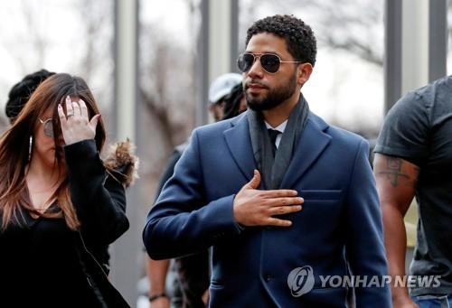 '혐오범죄 자작극 소동' 美배우 스몰렛, 시카고시·경찰에 소송