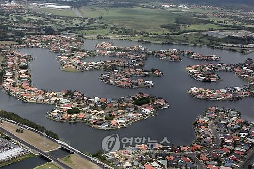 호주 해안도시 (연합뉴스 자료사진)