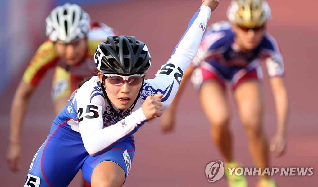 롤러 안이슬[연합뉴스 자료사진]
