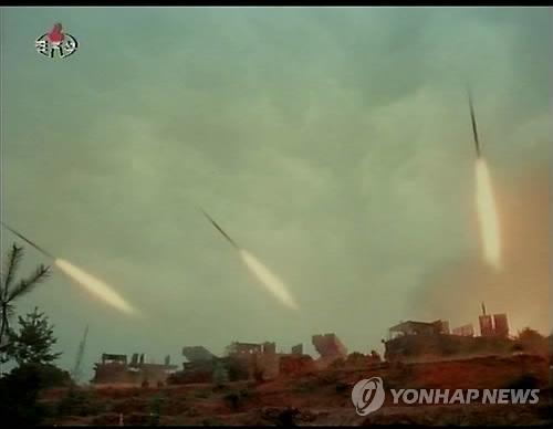 北TV, 김정일 군합동훈련 관람 뒤늦게 공개