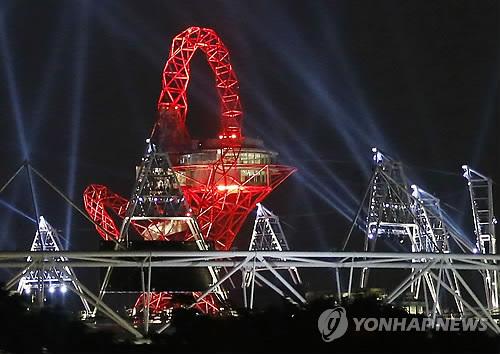 <올림픽> 개막 하루 앞둔 메인 스타디움