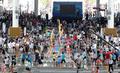 世博会最后一天 园区人山人海