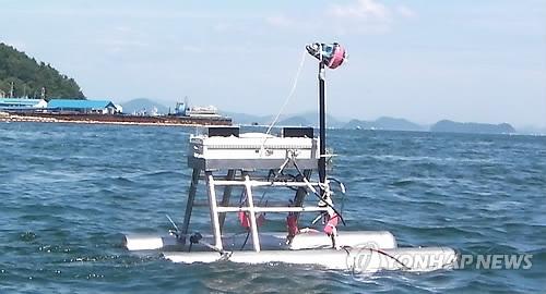 해파리 잡는 로봇