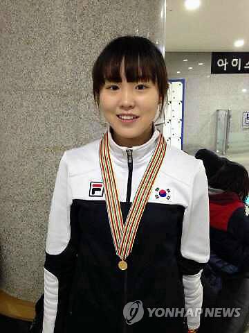 세계주니어쇼트트랙 2관왕 김아랑 선수
