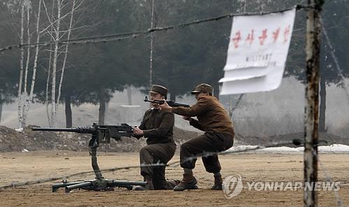40년 전 그날의 북한군 도발 재현