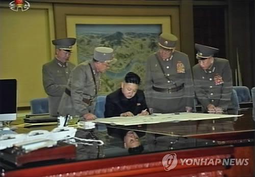 北김정은, 작전회의 긴급소집…