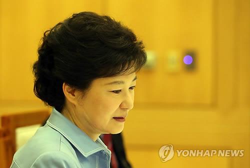 외교안보장관회의 주재하는 박 대통령