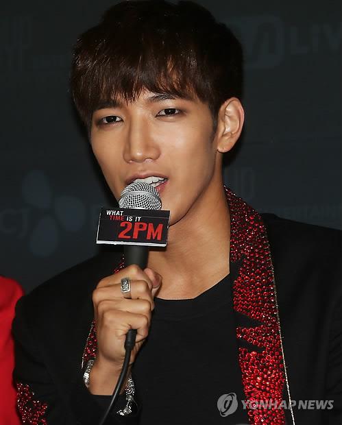 资料图片:2PM成员JUN.K(韩联社)