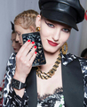 Samsung on Moschino runway