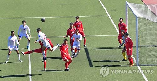 北 공화국선수권대회 축구 1급 경기