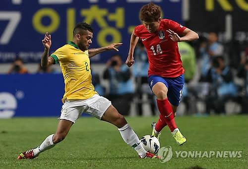 """브라질축구협회 """"11월 19일 UAE 아부다비서 한국과 친선경기"""""""