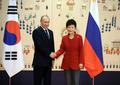 Park, Putin meet