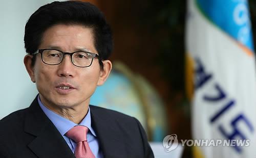 신년인터뷰하는 김문수 경기도지사