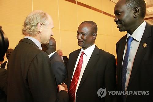 남수단 협상 개시