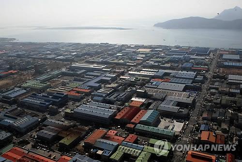 부산 녹산산업단지 [연합뉴스 자료사진]
