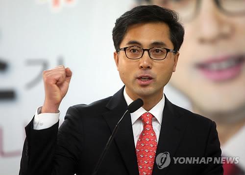 대덕구청장 출마 선언하는 박희조 사무처장